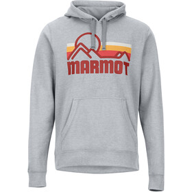 Marmot Coastal Capuchon Jas Heren, steel heather